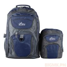 Homsome 2in1 Backpack 1001 (Dark Blue)