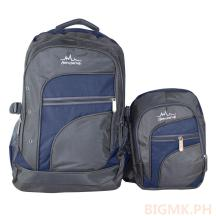 Homsome 2in1 Backpack 1002 (DarkBlue)