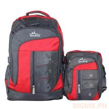 Homsome 2in1 Backpack 1003 (Red)