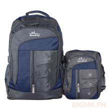 Homsome 2in1 Backpack 1003 (Dark Blue)