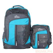 Homsome 2in1 Backpack 1003 (Sky Blue)