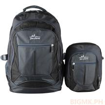 Homsome 2in1 Backpack 1004 (Black)