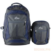 Homsome 2in1 Backpack 1004 (Dark Blue)
