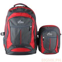 Homsome 2in1 Backpack 1004 (Red)