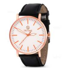 Tic Time 3386 v.1 Stainless Steel Men's Analog Wrist Watch (Rosegold)-00317