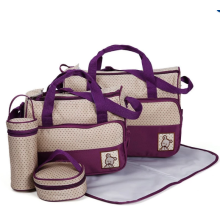 5 in 1 Multifunction Baby Diaper Changing Bag