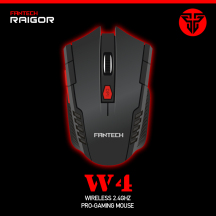 Fantech FTM-W529 (W4) 6D Optical Wireless Gaming Mouse 2.4g USB