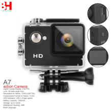 A7 Ultimate Sports Action Camera Under Water Extreme (Black)