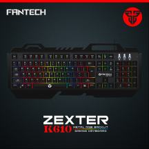 Fantech K610 Zexter Metal Backlit Membrane Gaming Keyboard