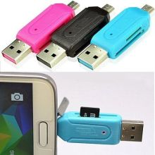 Micro USB OTG SD / TF Memory Card Reader