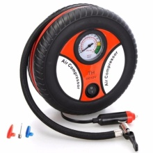 260PSI Auto Car Electric Tire Inflator Pump Air Pressure Gauge Compressor DC 12V