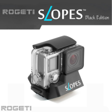 Rogeti Slopes Instant stand Black Edition Action Camera Housing like GoPro Hero, SJCAM, Xiaomi Yi Action Camera, etc