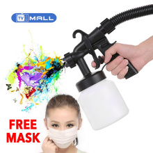 800ml 650W Electric Paint Sprayer Spray Gun HVLP Professional DIY Tools for Varnish Quick Painting Fence Indoor Outdoor