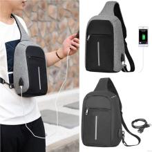 Anti-theft package balck Chest pack